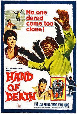 Primary image for Hand of Death - 1962 - Movie Poster