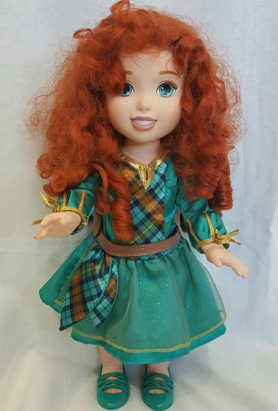 Disney's Brave Tollytots Meridia Doll Dressed 15 Inches Tall