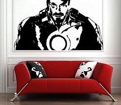 ( 71'' x 40'') Vinyl Wall Decal Tony Stark from Movie Iron Man/ Robot Suit Art D - $75.01
