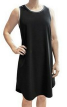 ABS by Allen Schwartz Women's Sleeveless T-Shirt Dress in Black, Sizes S; M - $19.99