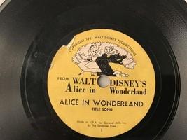 VINTAGE WALT DISNEY Alice in Wonderland complete set 1-16      8 records - $59.39