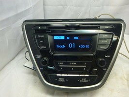 14 15 Hyundai Elantra AM FM Radio Cd MP3 XM SAT Player 96170-3X156GU AFW19 - $24.95