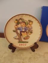 Vintage M.J. Hummel 1977 Annual Plate  #270 West Germany NOS boy in pear... - $128.69