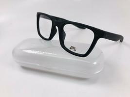 New NIKE 7111 010 Matte Black Eyeglasses 50mm with Case - $89.05