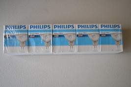 Lot of 5 Philips 378034 20W Halogen Lamp 20MR16/FL36 - $24.74