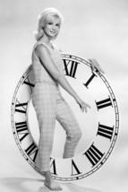 Yvette Mimieux Barefoot By Large Clock 24x18 Poster - $23.99