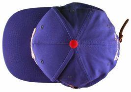 Cousins SportsWear Men's Hollywood Directors Leather Strapback Baseball Hat NWT image 12