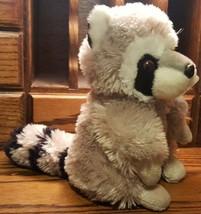 "Wild Republic 8"" Raccoon Plush Stuffed Animal K&M International 2014  - $9.46"