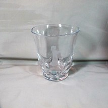 "Swedish Crystal Vase ""Girl with Single Flower"", Orrefors 5 3/4"" Clear Et... - $35.52"