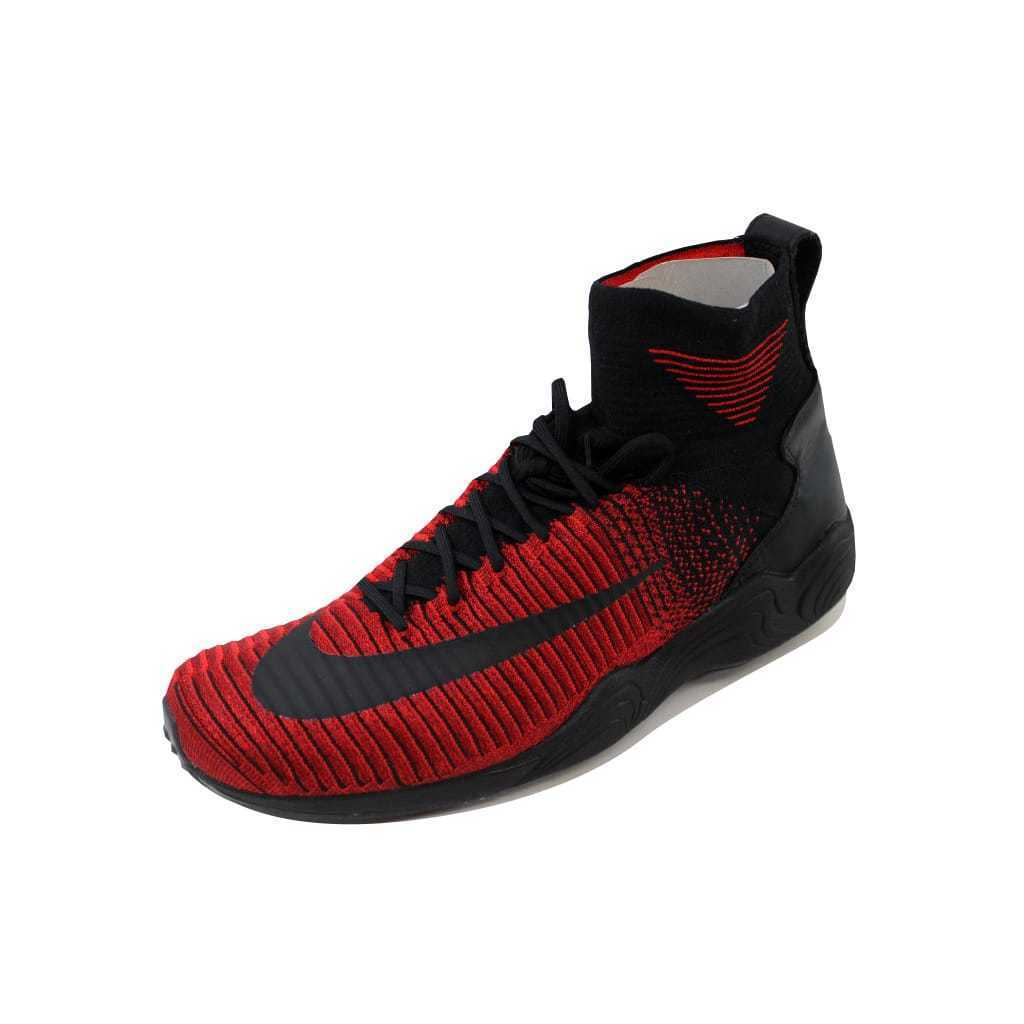 abce97d0f36 S l1600. S l1600. Nike Zoom Mercurial XI 11 Flyknit FC University Red Black-Red  852616-600 ...