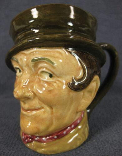 "Sam Weller D5841 Royal Doulton Character Toby Jug Small 3"" 8cm Dickens Pickwick"