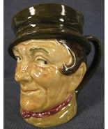 "Sam Weller D5841 Royal Doulton Character Toby Jug Small 3"" 8cm Dickens P... - $21.95"