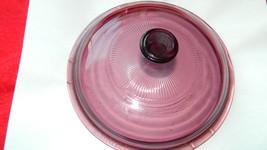 Pyrex Visions V-1.5-C Cranberry Lid Fits 1.5 Liter Saucepan Free Usa Shipping - $16.82