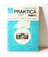Praktica Nova 1 Instruction Manual For 35mm SLR Camera - $9.79