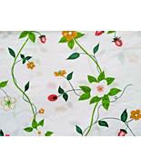 VTG Utica Strawberry Patch Suzanne Plechette Twin Flat + Pillowcases + K... - $38.00