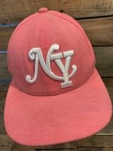 NY New York Pink Women's Snapback Adult Cap Hat - $9.89