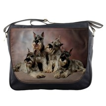 Messenger Bag Schnauzer Dog Nature Animal Family Design Fantasy Video Game - $30.00