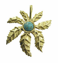 charming Turquoise Gold Plated Multi Pendant genuine wholesales US gift - $14.84