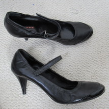Prada Chaussures Talon Femmes 39 Cuir Noir Babies - $96.92
