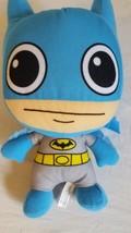 "DC COMICS ORIGINAL PLUSH BLUE BATMAN, BIG EYES, 11"", TOY FACTORY, NO TAG... - $6.05"