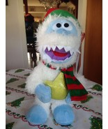 Rudolph The Red Nosed Reindeer Musical Dancing Bumble Snow Monster Side ... - $39.99