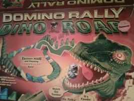 Vintage Pressman Dominoes Rally 2 Dino Roar (i40) - $49.50