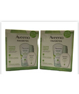 2 Aveeno Favorites Positively Radiant Morning Regimen Scrub & Moisturizer - $21.19