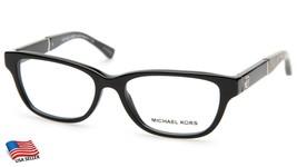 New Michael Kors MK4031 Rania Iv 3168 Black Eyeglasses Frame 49-15-135 B33mm - $58.40