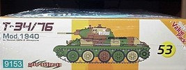Cyber- Hobby 1/35 kit 9153   WW2 Soviet T-34/76 Tank Mod. 1940 image 5