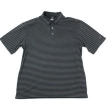 Nike Golf Herren Polo Gestreiftes Hemd 60/40 Polycotton Dri - Fit KURZÄR... - $24.69