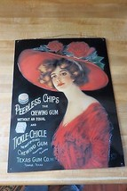 Peerless Chips The Chewing Gum e Tickle Chicle Gum, Texas Co.1992 USA Fi... - $161.00