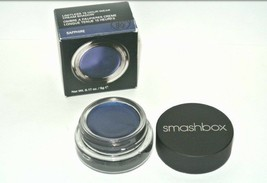 Smashbox Limitless 15 Hour Wear Cream Shadow SAPHIRE blue Full size new ... - $24.70