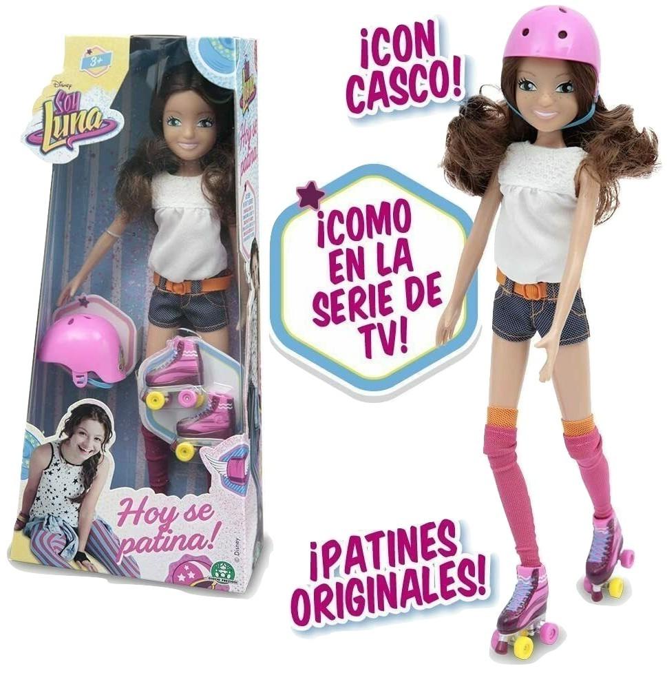Soy Luna - Fashion Doll con Rollers y Casco Giochi Preziosi YLU30000 serie TV - $199.00