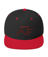 """Ripkitty """"Jumpers"""" Jumping Spider Pattern Red Black Snapback Antonio For... - $18.80"""