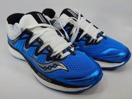 Saucony Triumph ISO 4 Size US 9 M (D) EU 42.5 Men's Running Shoes Blue S20413-2