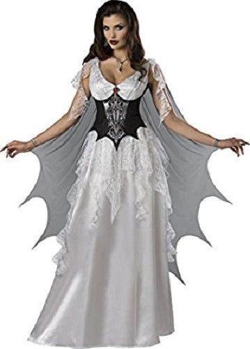 Incharacter Vampire Comtesse Ailes Monster Adulte Femmes Déguisement Halloween