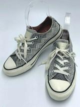 Converse All Star Missoni W 5 Gray White Chevron Lo Top Shoes Sneakers - $27.99