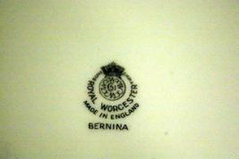 "Royal Worcester 1986 Bernina Round Platter Chop Plate 12"" image 4"