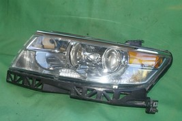 07-09 Lincoln Zephyr 06 MKZ Halogen Headlight Head Light Left Driver LH POLISHED image 2