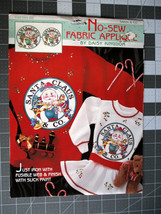 VTG Daisy Kingdom Santa Claus and Co Christmas No Sew Applique - $5.39
