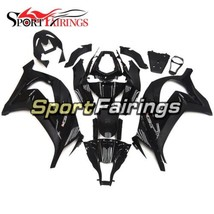 Black Complete Cowlings For Kawasaki 2011 2012 2013 2014 2015 ZX10R Body... - $304.45