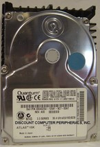 36.4GB 3.5 SCSI SCA HH ATLAS 10K TN36J462 QUANTUM QM336400TN-SCA Free USA Ship O