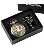 Retro Tone Fullmetal Alchemist High Grade Gifts Sets Pocket Watch Cospla... - $12.99+