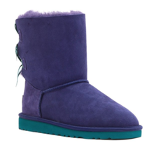 UGG Toddler Girls' Bailey Bow Bloom Boot, Medallion Purple/Turquoise, US... - £34.31 GBP