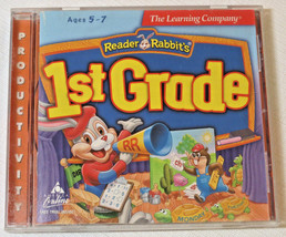 The Learning Company Lecteur Lapins 1st Grade Âges 5-7 Cd-Rom 1997 Produ... - $16.03