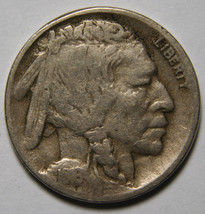 1916D Buffalo Nickel 5¢ Coin Lot # A 2086