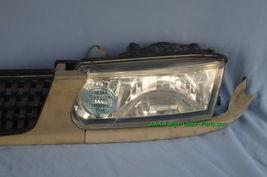 93-94 Nissan Tsuru Sunny Sentra B13 Headlights Head Light Lamps Set L&R w/ Grill image 12