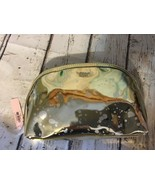 Victoria's Secret Gold silver Zippered Makeup Cosmetic Bag NEW - $9.49