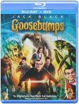 Goosebumps (Blu-ray/DVD, 2016, 2-Disc Set) New