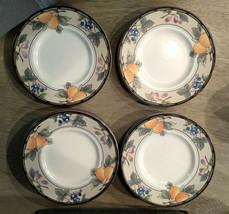 Mikasa Garden Harvest Bread Plates CAC29 Set of 8 Plus Sugar bowl - Excellent - $28.45
